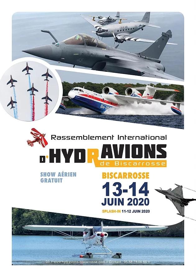 Rassemblement International d'Hydravions 2020 Biscarrosse Musée de l'Hydraviation airshow Hydrobase de Biscarrosse Nouvelle-Aquitaine