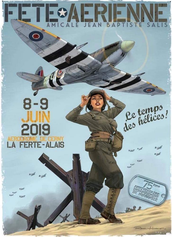 Ferté Alais 2019 Le Temps des Hélices à Cerny meeting aerien 2019