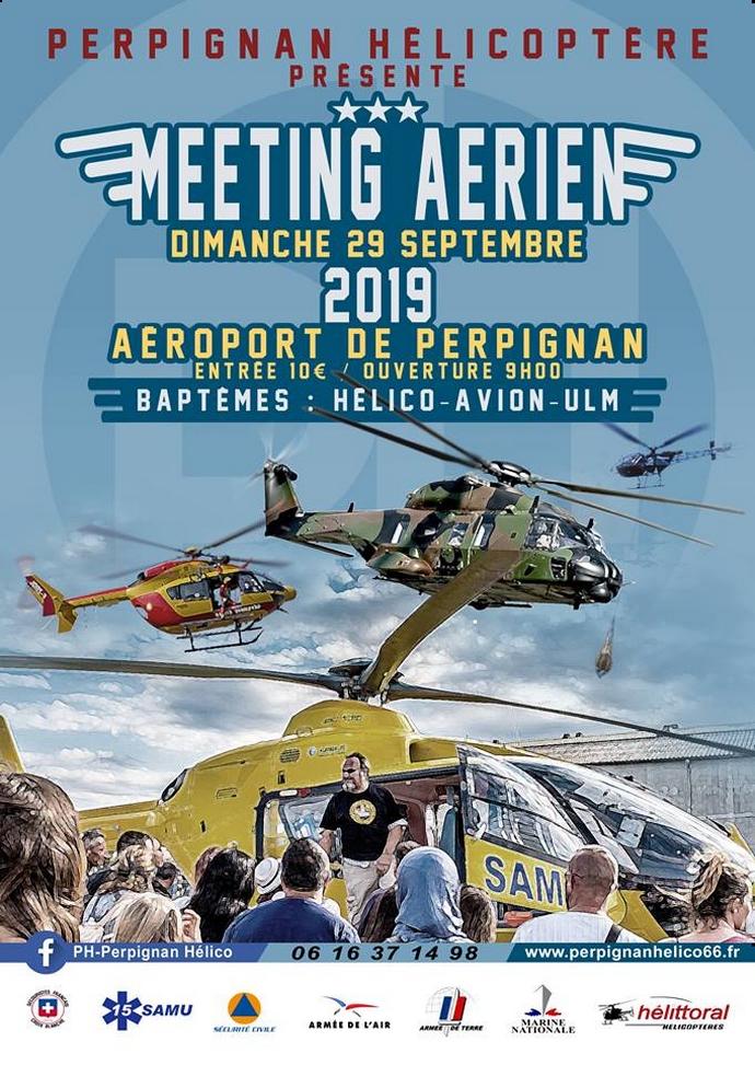 Meeting Aerien de Perpignan 2019 hélicopter
