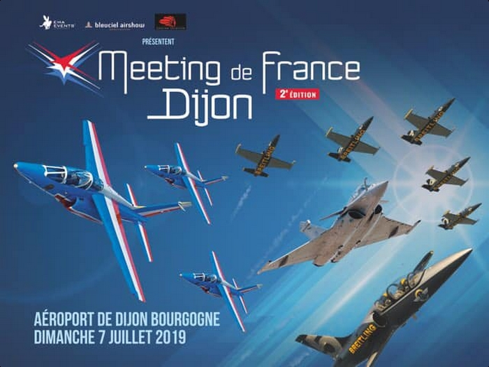 Meeting de France Dijon bleuciel airshow meeting aerien 2019