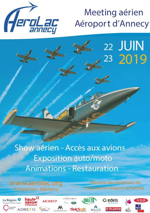 AéroLac Annecy 2019 Aéroport Annecy Metz-Tessy Rhone-Alpes Meeting Aerien 2019