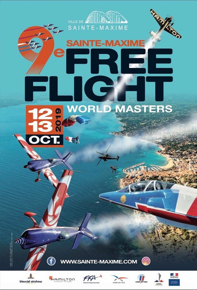 9ème Sainte-Maxime Free Flight World Masters 2019