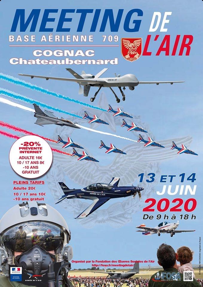 Meeting de l'Air BA-709 Cognac-Châteaubernard 2020 Meeting Aerien airshow cognac fosa ouest Nouvelle-Aquitaine manifestation aerienne 2020