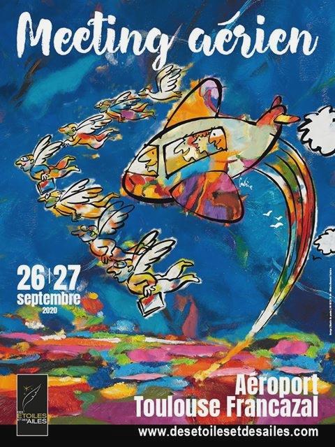 Aéroport Toulouse Francazal Occitanie Des Étoiles et des Ailes Meetin Aerien 2020