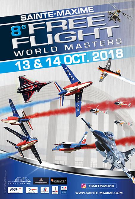 Free Flight World Masters Sainte-Maxime 2018 , plage , bleuciel airshow 2018