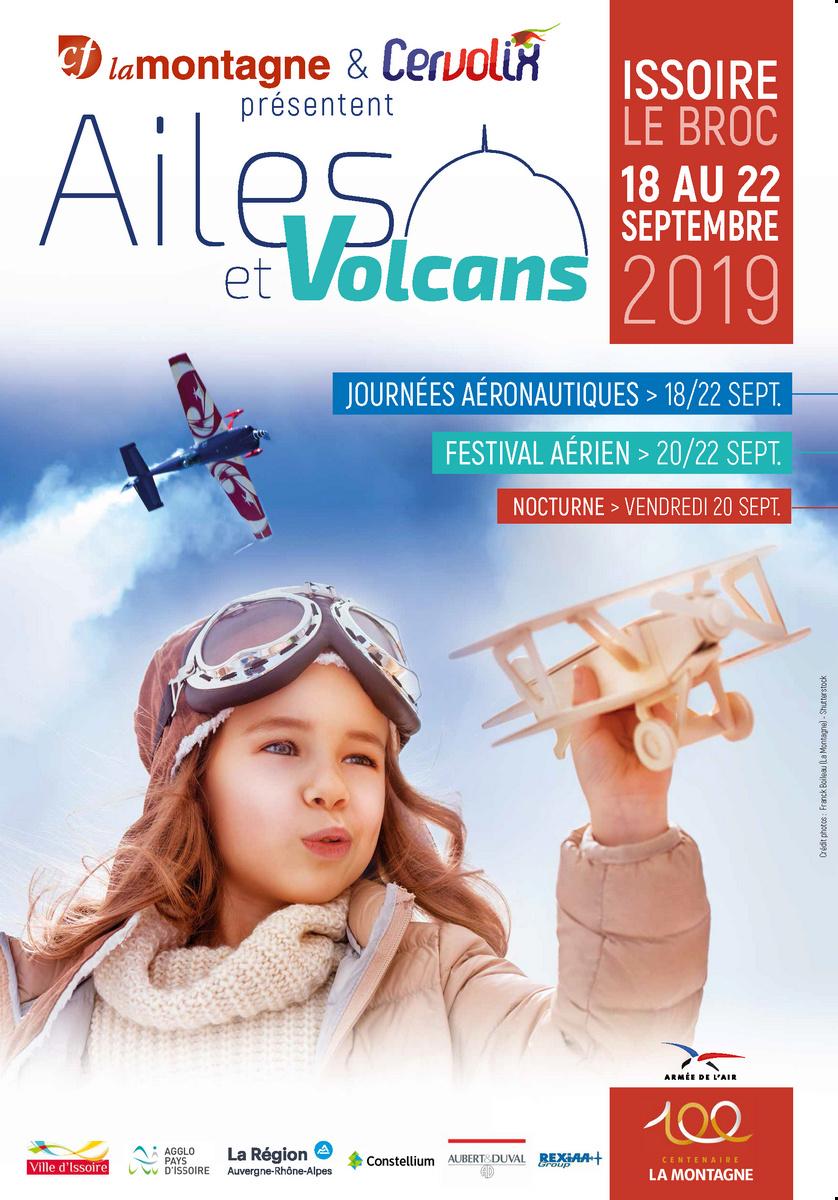 Ailes et Volcans 2019 100 ans lamontagne cervolix lamontagne issoire Meeting Aerien 2019