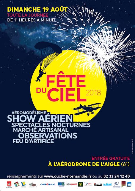 Fete du Ciel Pays d'Aigle 2018 , bleu ciel airshow , meeting aerien 2018