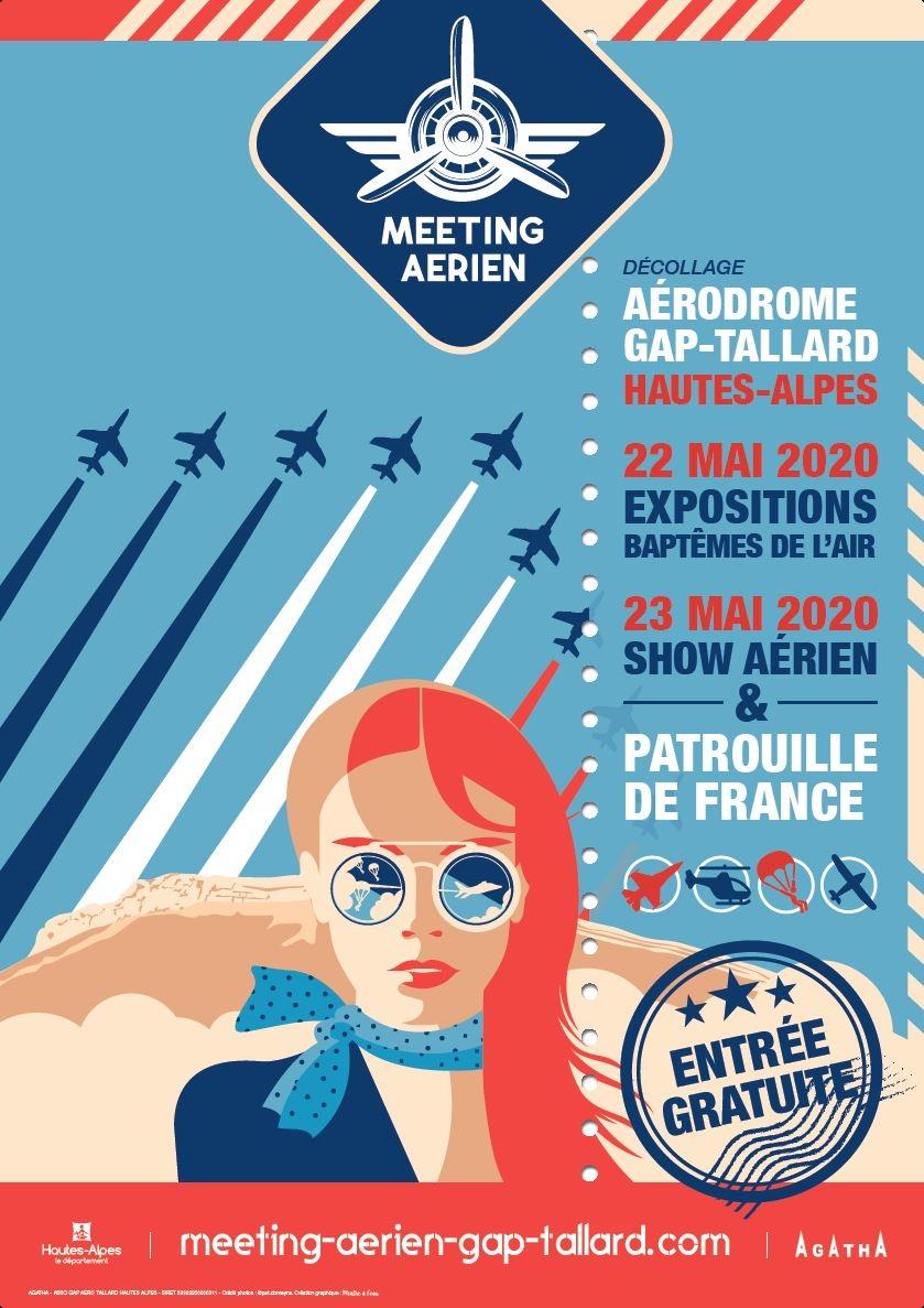 Meeting Aerien de Gap-Tallard 2020 Provence-Alpes-Côte d'Azur Airshow manifestation Aerienne