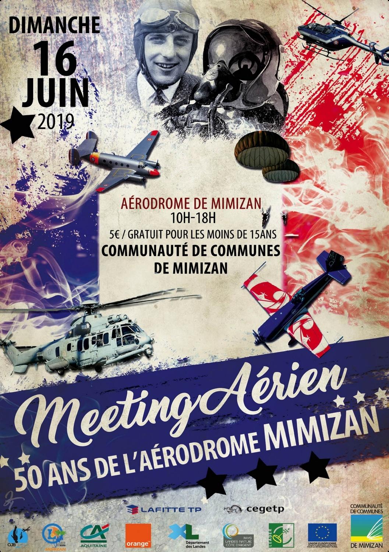 Meeting Aerien Mimizan 50 ans de l'aérodrome 2019