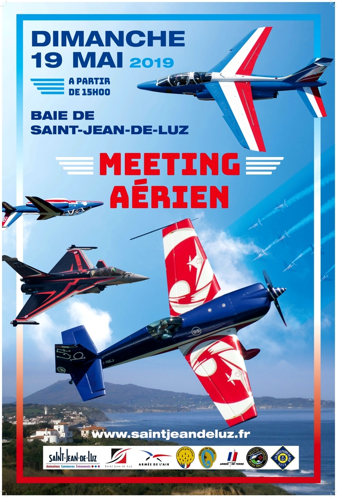 Meeting Aérien Saint Jean de Luz Rafale solo display patrouille de france 2019