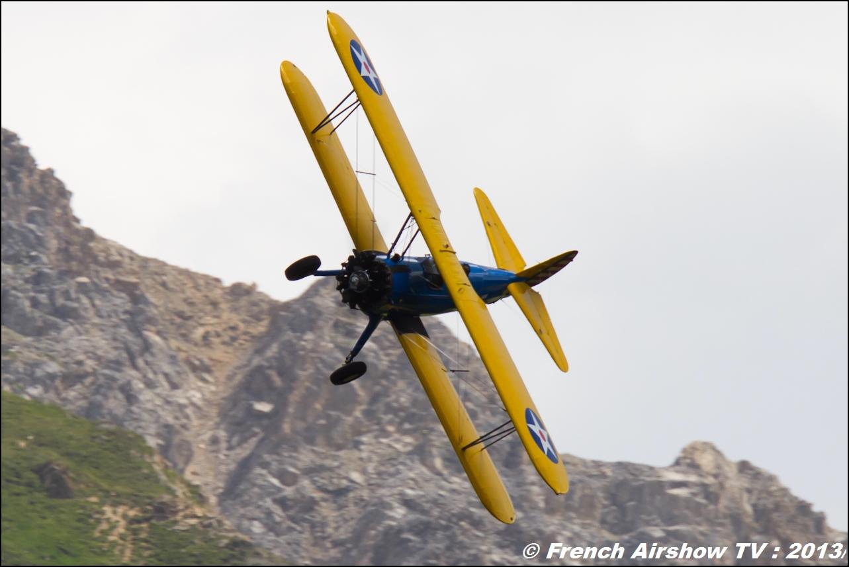 Stearman Roanne Stearman.fr , Meribel Air Show 2013