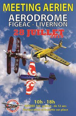 Meeting Aérien de l'aéroclub de Figeac Livernon 2019
