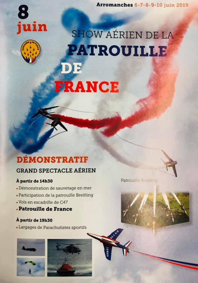 Show aerien D'Arromanches 2019 75 D-Day