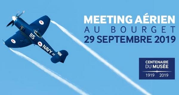 Meeting Aerien du Bourget centenaire du musée 1919 2019