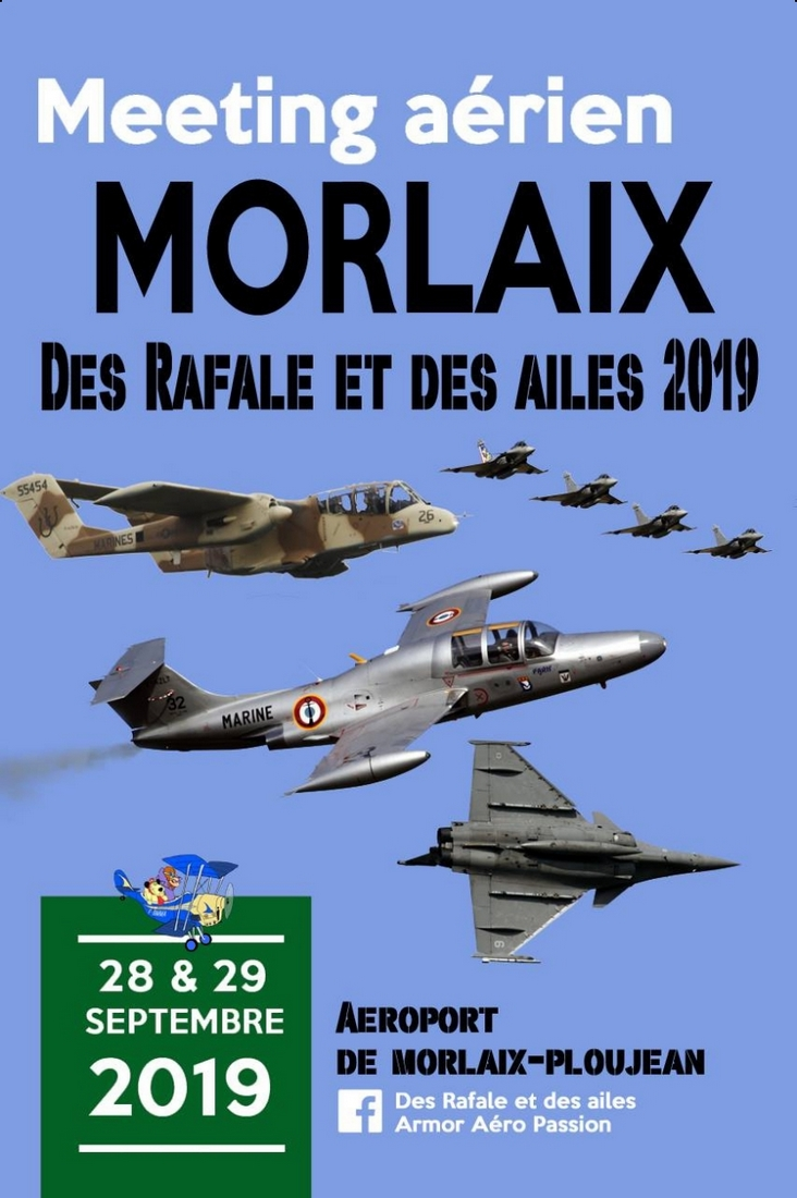 Meeting Aerien de Morlaix bretagne Armor Aéro Passion Meeting Aerien 2019