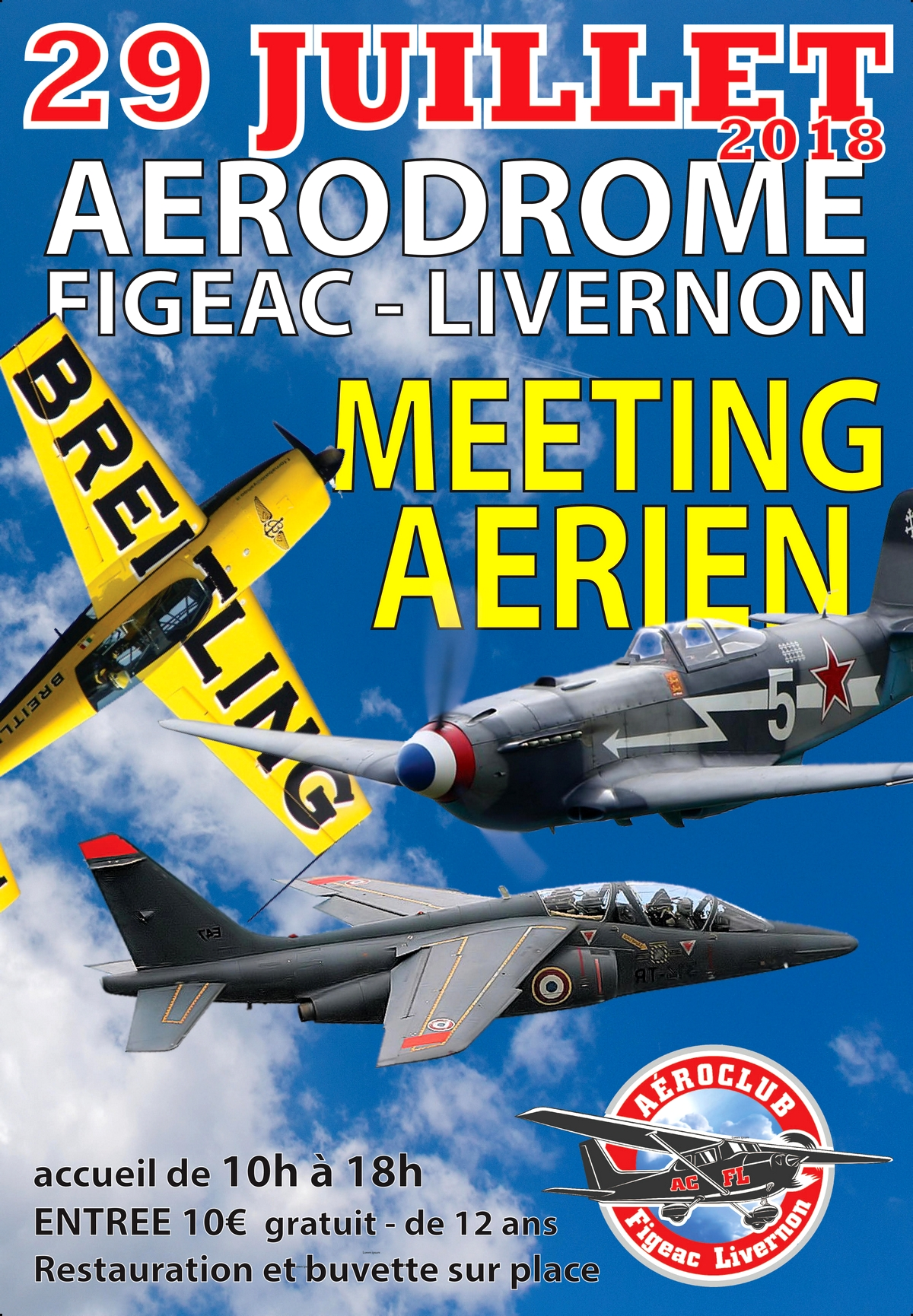 Meeting Aerien Figeac 2018 , Aerodrome Livernon , Alphajet solo Display ,meeting aerien 2018 , Spectacle aerien 2018