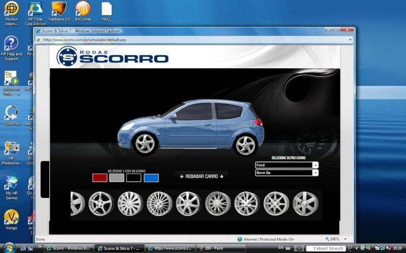 Simulador de rodas com o novo ka for Simulador habitaciones online